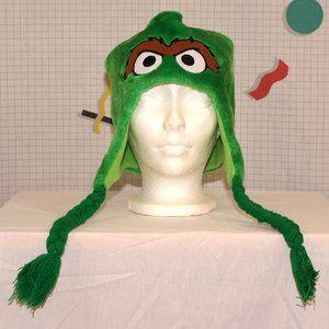 Sesame Street Oscar the Grouch hat